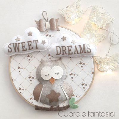 "Quadretto ""Sweet dreams"""