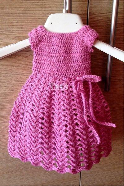 Abito neonata in pura lana baby al 100% realizzato a uncinetto
