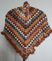 Scialle  per signora in misto lana