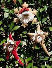 Stelle di Natale decorate