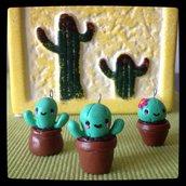 Ciondoli Cactus in fimo