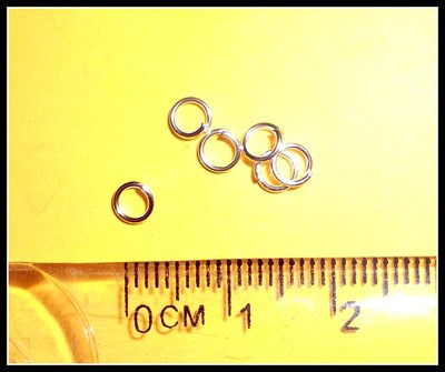 50 Anellini (jump ring) 4mm