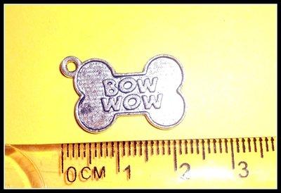 5 ciondoli a medaglietta di riconoscimento a forma di osso per cane