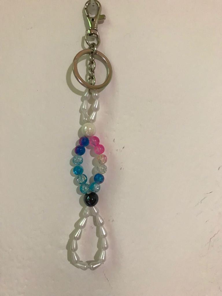 Portachiavi Multicolor  in perline