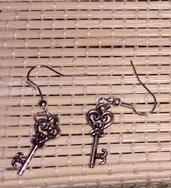 orecchini a chiave