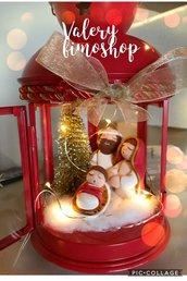 Lanterna presepe natalizio