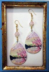 Orecchini handmade MONTE FUJI