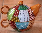 Tazza tè con infusore - Stile PatchWork