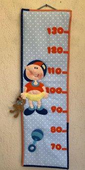 Metro misura bambino, decorazione per cameretta per bambino