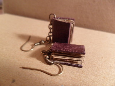 piccolo orecchino libro