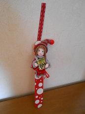 Segnalibro con bambolina