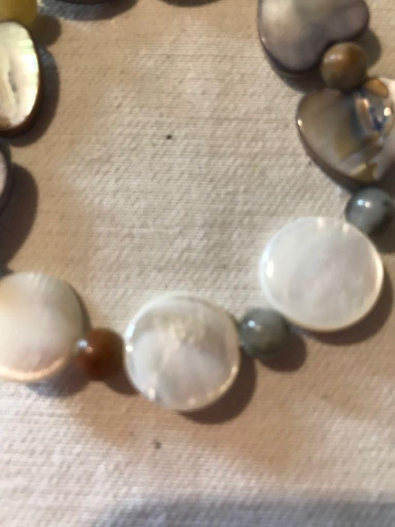 Braccialetto madre perla e opale