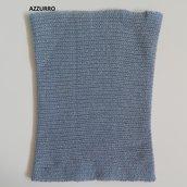 Scaldacollo puro cashmere 4 fili; fatto a mano.