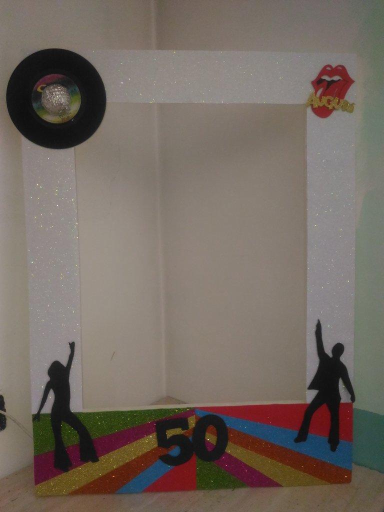 Cornice Photo booth per feste