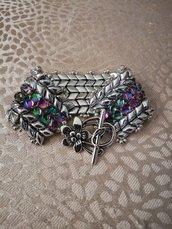 Il braccialetto argento