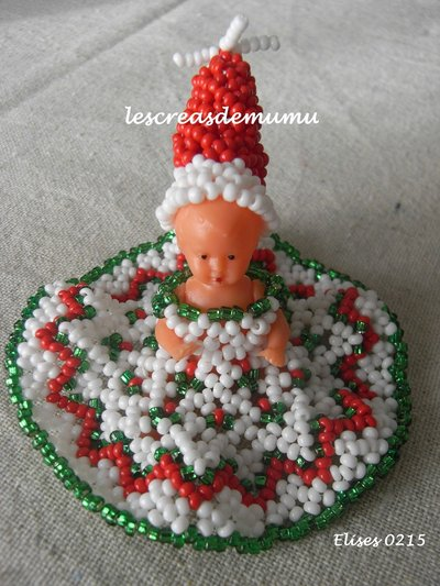Robe poupée Noël