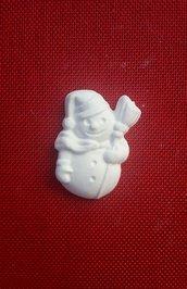Gessetto pupazzo di neve