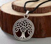Ciondolo ALBERO DELLA VITA celtico vichinghi