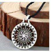 Ciondolo svastica simbolo sole universo portafortuna celtico