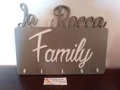 Targa per la Famiglia personalizzata