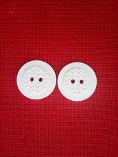 Gessetto bottone in polvere ceramica