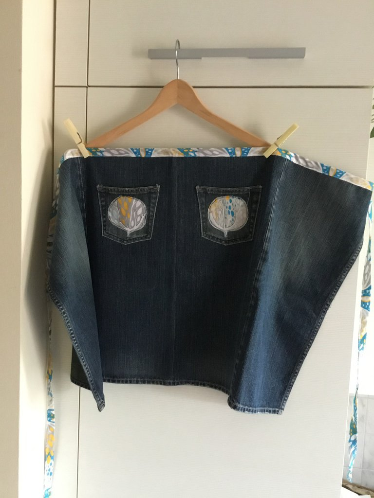 Grembiule in jeans