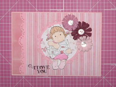 "Card ""I love you"""