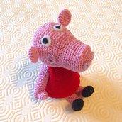 Amigurumi pattern plush Peppa Pig crochet. Pattern french | Etsy | 172x172