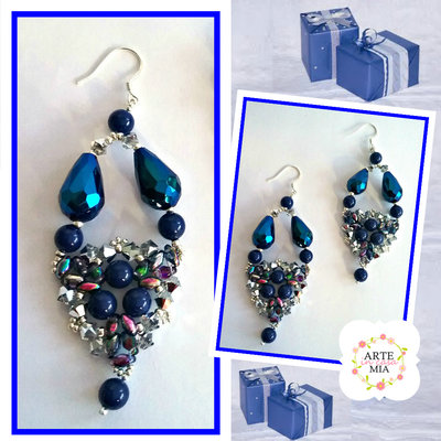 Orecchini Blu – Linea Mariella