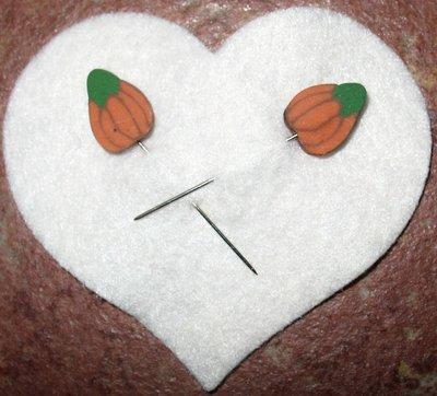 Pumpkin pins