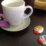 Tazza mug con piatto