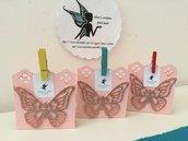 Scatolina porta confetti farfalla