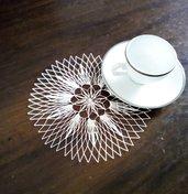 Centro filet modano - piccolo fiore