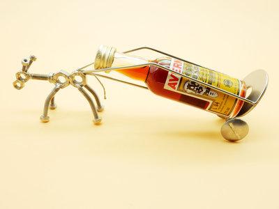 vino scultura in acciaio porta vino wine rack espositore bottiglia espositore vino metallo portavino Portabottiglie porta bottiglia