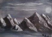 Montagne nella notte