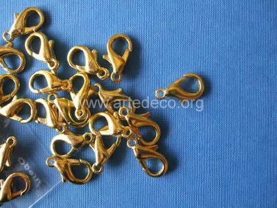 Moschettone 1 cm Oro