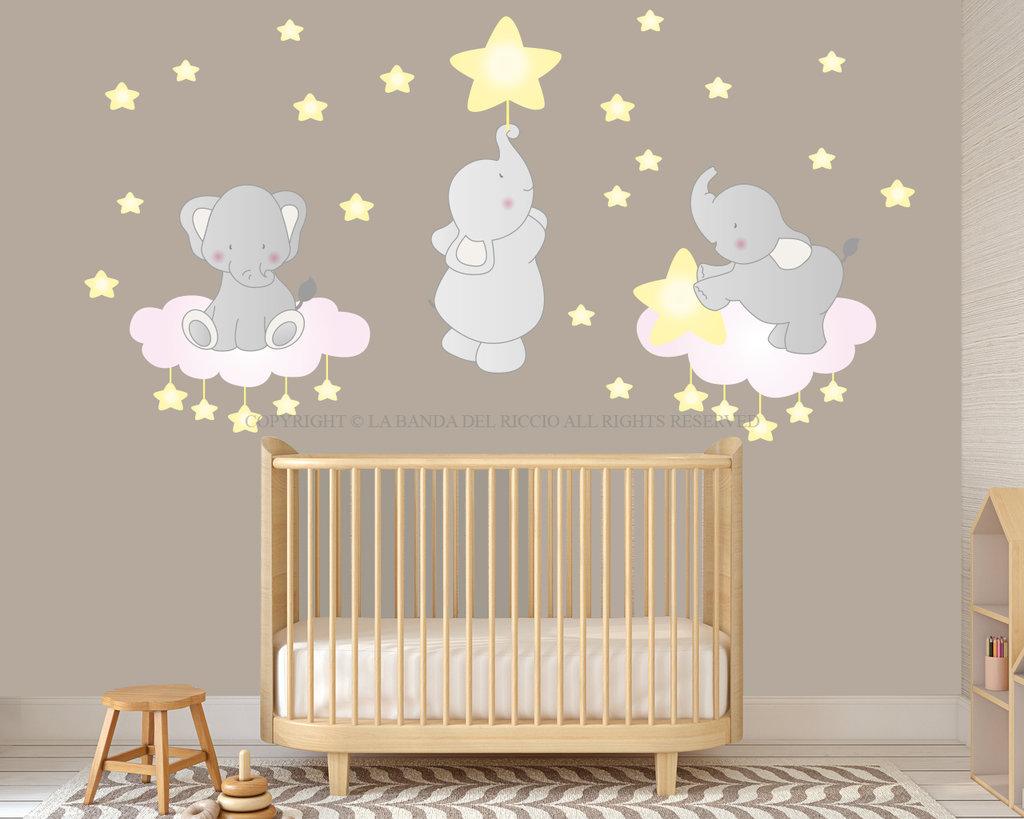 Gli Elefantini stickers murali bambini