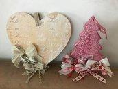 Decorazioni da parete albero e cuore