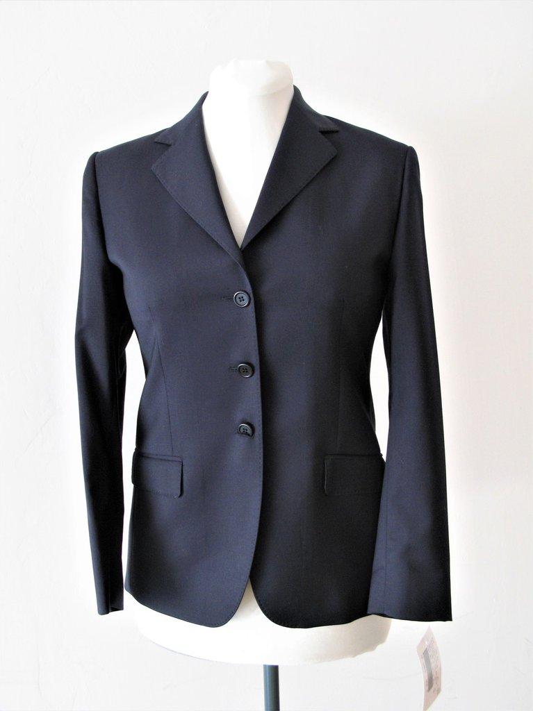 Giacca donna - giacca classica blu in pura lana vergine