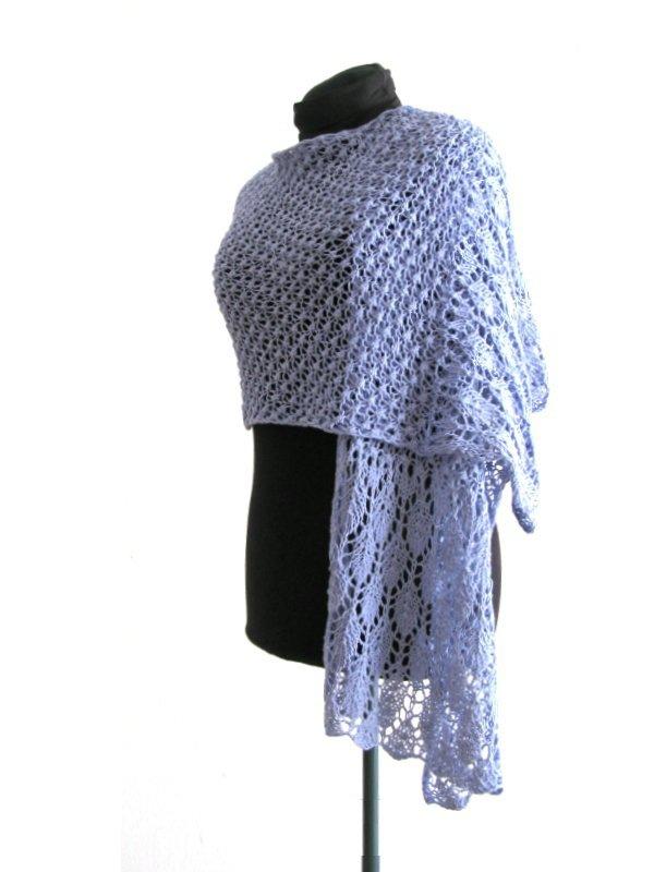 outlet in vendita miglior sito 100% di alta qualità Scialle - Stola in pizzo di maglia - sciarpa estiva - sciarpa fatta a mano