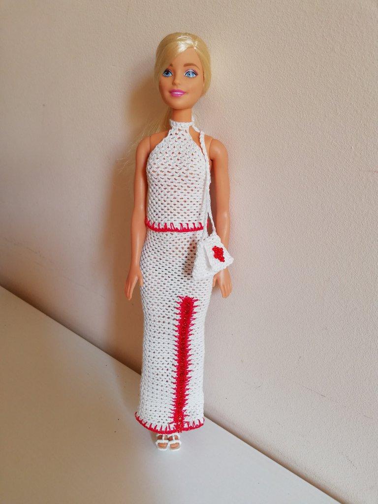 0386fed60554 Vestito per Barbie - Bambini - Giocattoli - di Katy