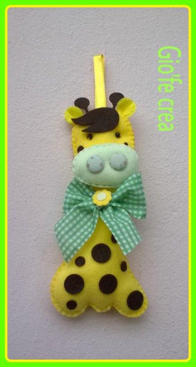L' allegra giraffa