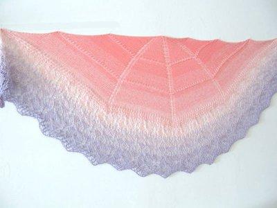 Scialle sfumato - Scialle gradient -Stola- Scaldacollo -sciarpa - baktus