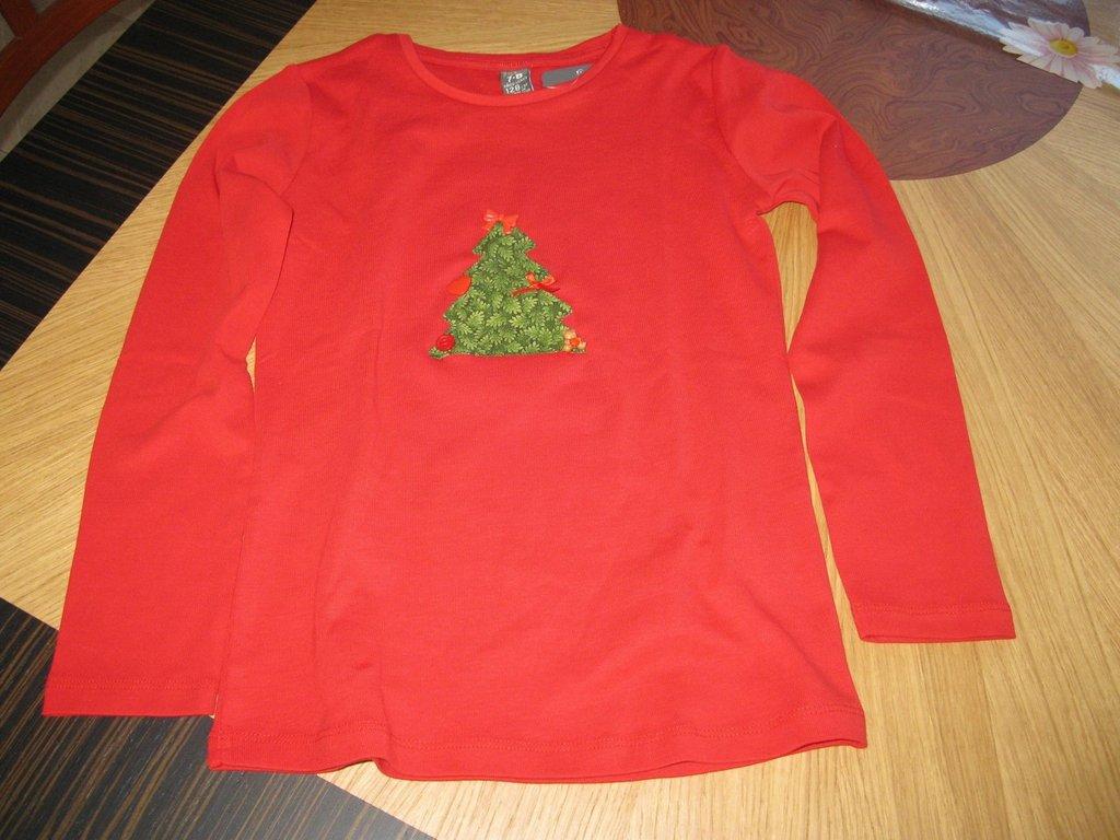 T-shirt Patchwork Natale