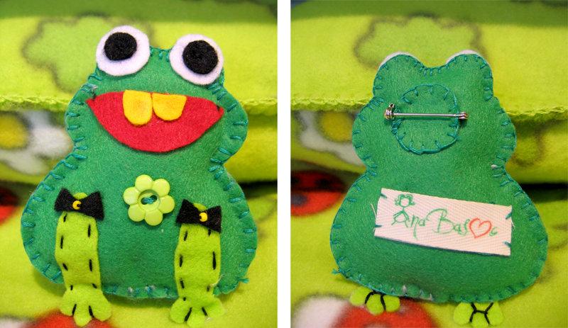 pretty frog