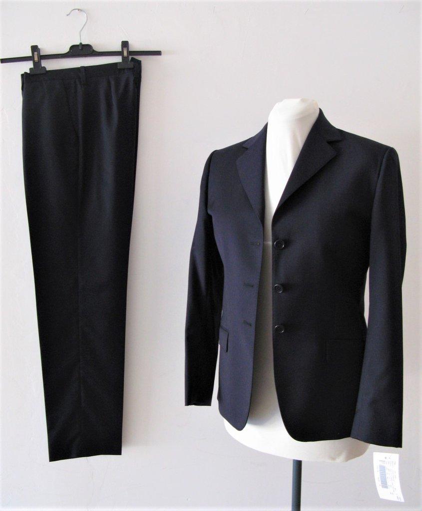 sale retailer 93e97 ec7fb Completo donna giacca e pantaloni - Tailleur pantalone donna - Completo  pantalone donna - Completo blu
