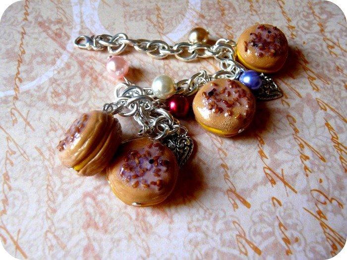 Bracciale - Macarons alle Mandorle