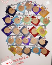 Calendario DELL'AVVENTO handmade