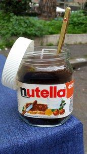 """Simpatica Candela """"Nutella"""""""