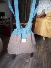 Jo-Jo bag in lana